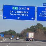 Se inicia el proceso para levantar peajes del tramo Tarragona-La Jonquera y la AP-2 Zaragoza-Mediterráneo