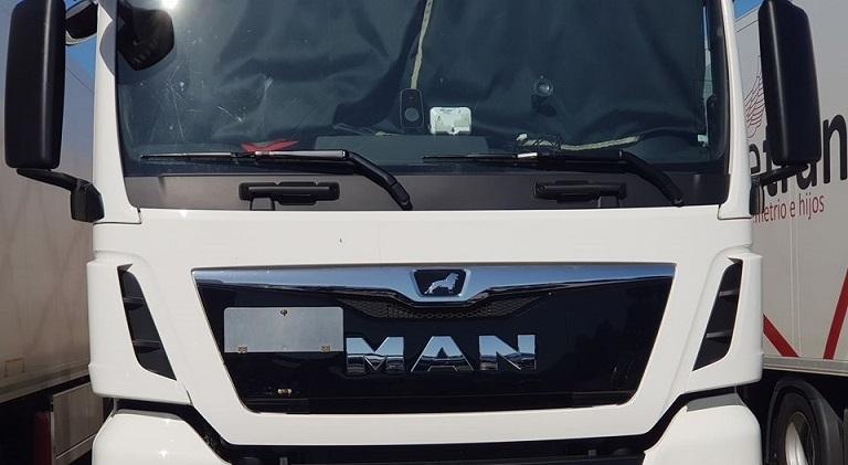 Camionero hallado muerto en la cabina con el rostro desfigurado en la estación de servicio de Alcochete