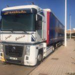 ¡Aviso! Camión robado en Utebo, Beatriz Gñarul, Renault Magnum 1048JRJ
