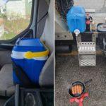 Camioneros cabreados: «Es una locura que tengamos que cagar en nuestros camiones»
