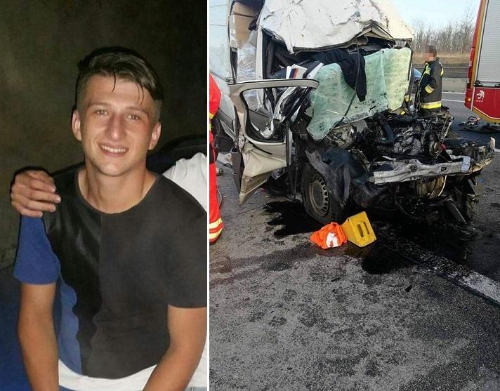 Piden ayuda para paliar los gastos por la muerte de un conductor de solo 23 años que falleció en Budapest