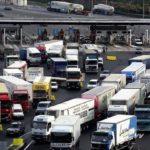 Protestas de los transportistas por carretera en Italia: si cierra todo a las 18 h, no podemos comer, ir al baño y lavarnos.