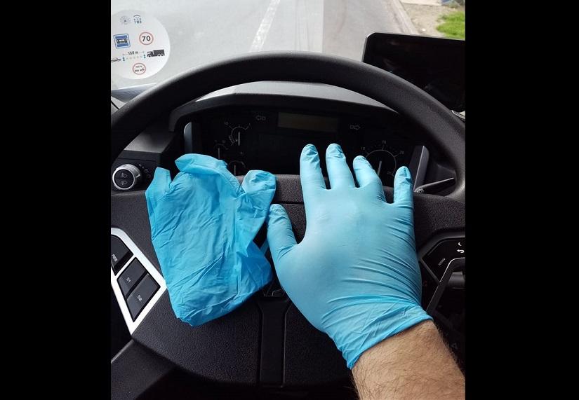 Froet comunica que las empresas cargadoras no pueden exigir mascarillas y guantes a los conductores