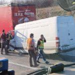 Fallece una conductora y un conductor de furgonetas, en dos trágicos accidentes con camiones en Pécsvárad y la M-0