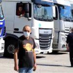 Muchos camioneros se ponen en cuarentena y no  van a casa con su familia para evitar poner en peligro a sus seres queridos