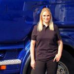 Christina Scheib, la princesa camionera : «Me encanta la libertad»
