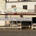 Comida y bebida gratis para los transportistas en el Restaurante Los Álamos de Peñaranda de Bracamonte