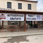 El famoso restaurante El Español de Bujaraloz ofrece alimentos y bebida gratuita  para todos los camioneros que tengan que parar a descansar