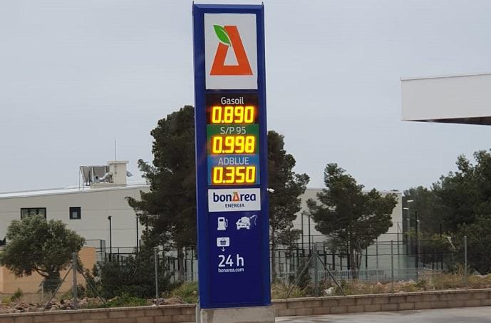 Quieres repostar el litro de diésel, a menos de 87 cts?: te mostramos el mapa de las gasolineras