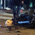 Muere tambien la pareja del motorista asesinado ayer por el conductor que huía a 160 por Badalona, drogado, bebido, sin carné y con un amplio historial delictivo