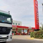 Los camioneros denuncian que las gasolineras no cumplen la orden, los aseos de Cepsa están cerrados