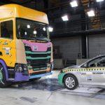 La nueva generación de camiones Scania, sometió a 5 años de pruebas de choque antes de ser producidos en masa