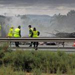 Los dos camioneros fallecidos en la A7 tenían 57 y 54 años y eran de Garrucha y de Murcia.