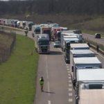 Bloqueada la A36 por la colisión de 3 camiones y la muerte de un camionero en Haut-Rhin