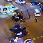 Fallece un motorista atropellado por un conductor de 22 años, sin carné, múltiples antecedentes, drogado, bebido huyendo a 160 km/h por Badalona