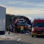 Muere una mujer camionera de 30 años, en la colisión de dos camiones en la A36 Francia