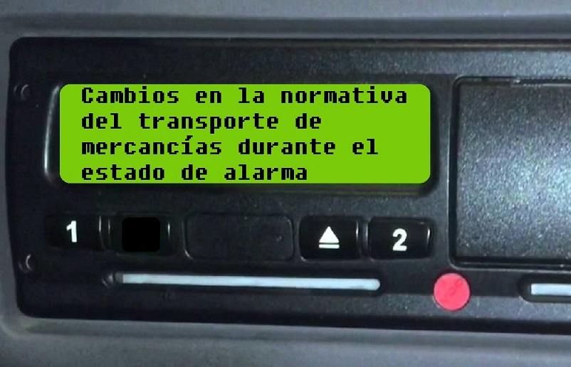 Academia del Transportista aclara la Nueva Normativa en el Transporte de Mercancías Durante el Estado de Alarma