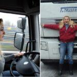 Camionera Valentina Telean.  «Los tiempos han cambiado» «Quiero ver tantos países como sea posible