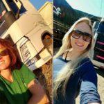 Muere la «Reina de la Carretera» 33 años, madre de dos niñas de 5 y 10, al caer  el camión por un acantilado en Seabra