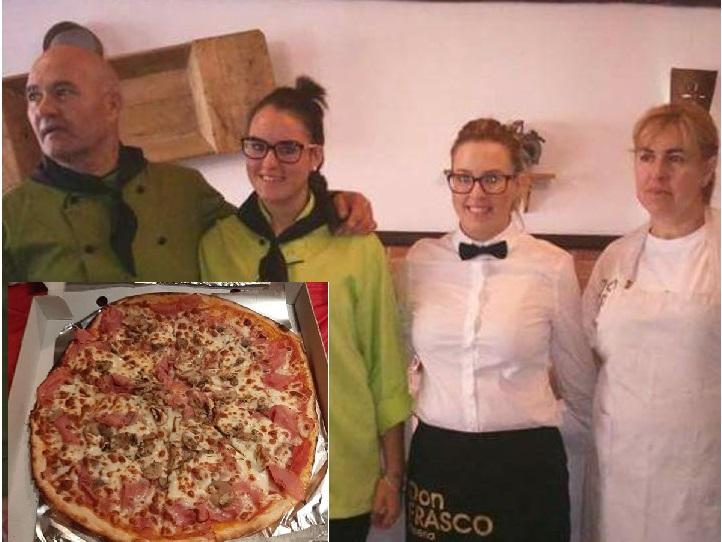 El dueño de una Pizzeria de Baza, se desplaza 20 kilómetros para llevar una pizza a un camionero