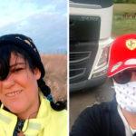 La historia de Angelique Ramírez, la apasionada camionera española que recorre Europa en plena pandemia