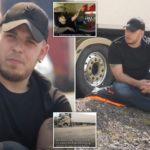 Un camionero vive en su camión durante cinco semanas para proteger a su esposa e hijos del coronavirus