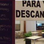 Restaurante El Español, anuncia robos y destrozos diarios: Si sigue así, nos veremos obligados a cerrar. «Coge lo que necesites pero no abuses y no robes, esto es para todos»