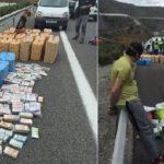 Prisión para el camionero detenido con un millón de euros en metálico y 1.037 kilos de hachís