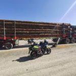Denunciado en Francia un camión con 29 toneladas de exceso, 77 en lugar de las 48 reglamentarias