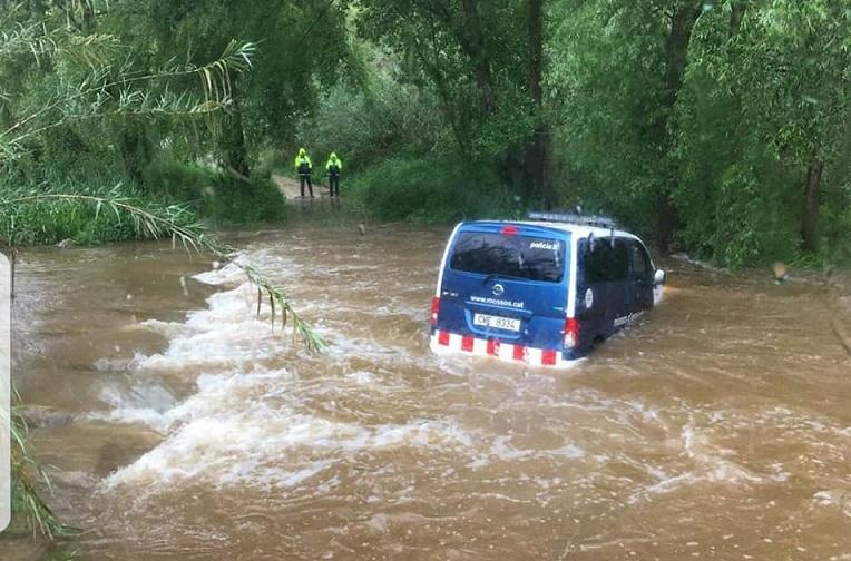 Todas las carreteras de la provincia de Girona afectadas por el temporal