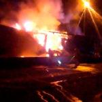 Tres muertos en un accidente de tres camiones y un coche en la C245 Sant Boi de Llobregat