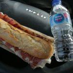 El Área La Ribera en la AP7, regalan a transportistas bocadillos de Jamón Ibérico de Bellota, y menú a 8,95 €