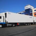 Disfrimur pone en circulación el mayor camión frigorífico de España