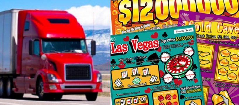Un camionero gana 10 millones de dólares con un 'Rasca y Gana', el mayor premio de su estado. «Seguiré siendo el mismo de siempre»