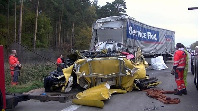 Los accidentes de camiones en atascos se acumulan a pesar de los asistentes de frenado de emergencia – Vídeo