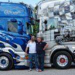 Muere el transportista y empresario querido por todos «Bruno Valcarenghi», conocido por sus espectaculares camiones decorados