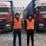 Alblas con 35 camiones de China a Europa, 13.600 km en 14 a 17 días