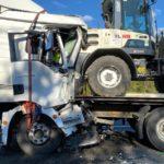 Fallece un camionero de 57 años, al colisionar con otro camión detenido en un atasco en la  A9 cerca de Nuremberg
