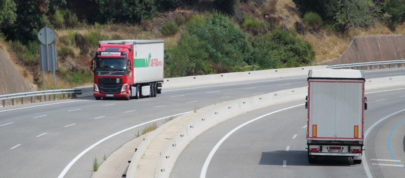 Conductores camión articulado frigorífico ruta nacional 2.000 a 2.500 euros