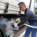 Disputa sobre exención de los peajes para camiones de gas natural en Alemania