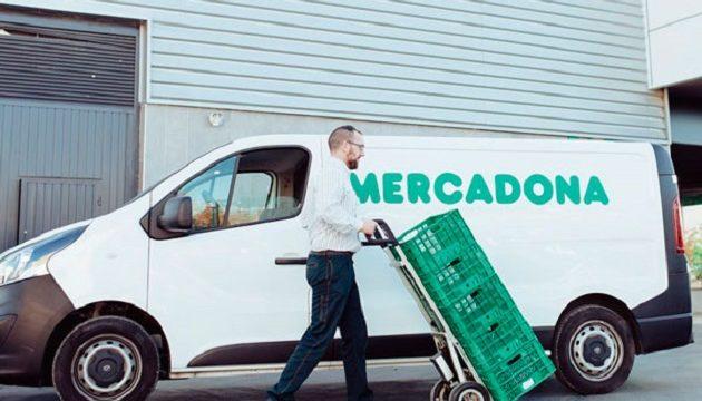 Mercadona Online necesita repartidores contrato indefinido  a 1.338 euros al mes