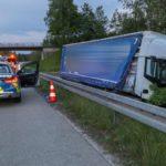 Detenido un camionero, en una persecución, por viajar 20 km contradirección en la A3 Autobahn