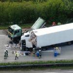 Grave accidente en Hamburgo A1: camión choca contra el extremo del atasco – autopista bloqueada