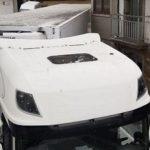 Otro camión atascado «hasta las trancas» en O Cruceiro, Malpica