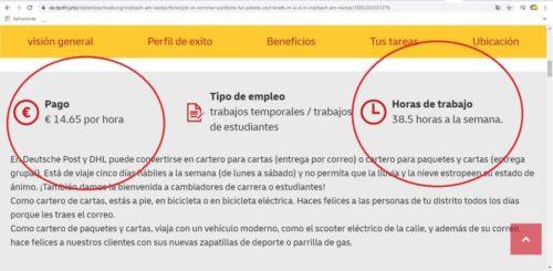 Deutsche post DHL: 1428 ofertas activas para conductores repartidores a 2.256€ en muchos casos