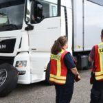 Fallece un camionero por el impacto de un neumático en la cabeza en el estacionamiento de Bucheneck, en la A6