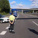 Pillado un camionero portugués que había viajado a 146 km/h, bebido e incumplimiento grave de los tiempos de descanso