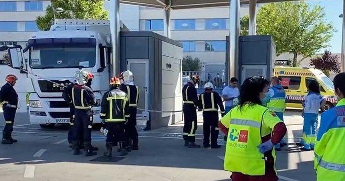 Fallece un camionero aplastado por su camión en una ITV de RivasVaciamadrid