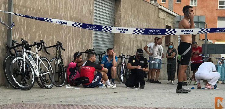 Atropello ciclistas