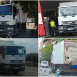 Así son los camiones camuflados y los radares láser portátiles de la DGT